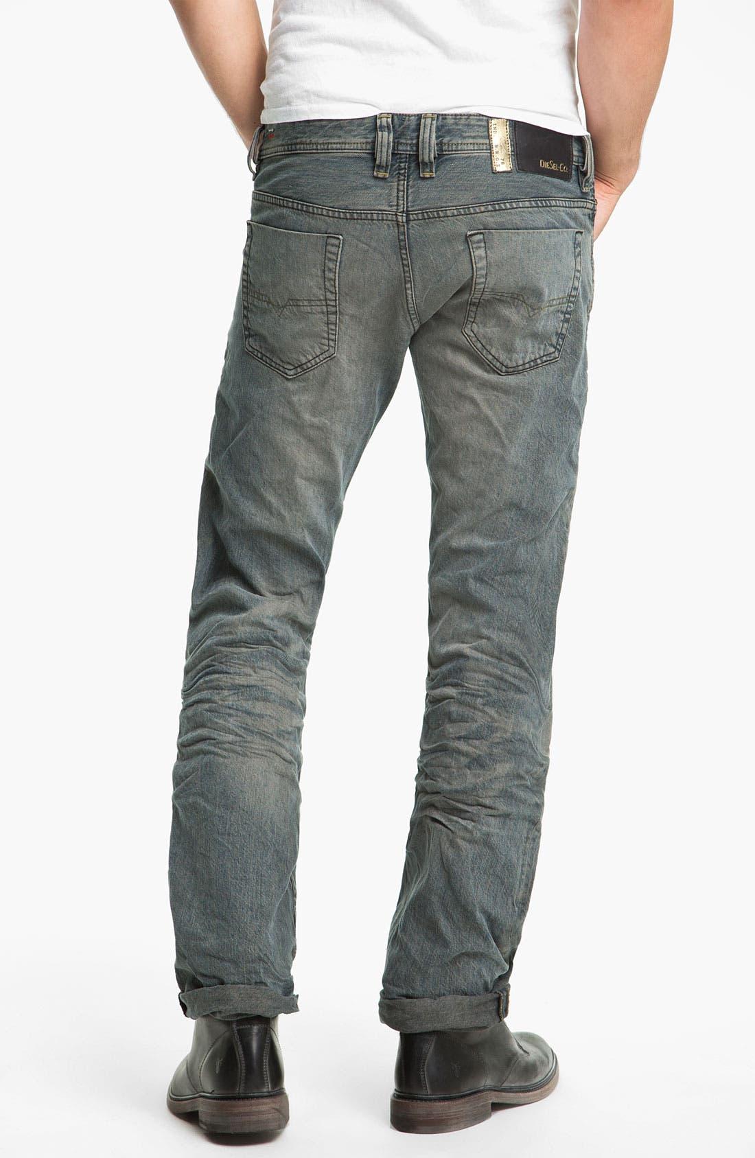 Alternate Image 1 Selected - DIESEL® 'Viker' Straight Leg Jeans (0807C)
