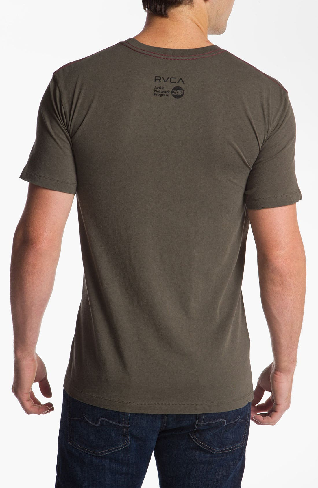 Alternate Image 2  - RVCA 'Waff Mate' Vintage Wash T-Shirt