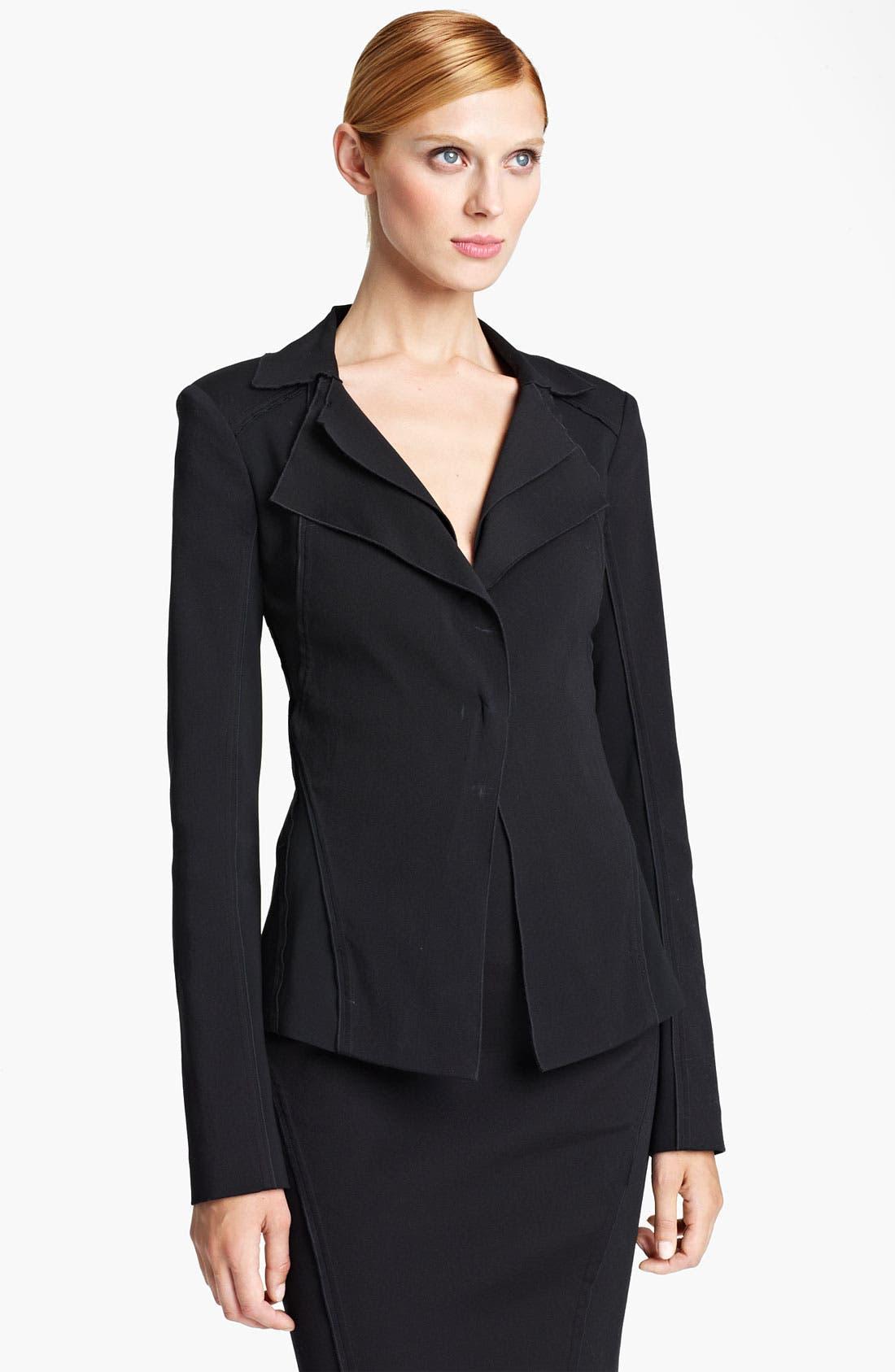 Alternate Image 1 Selected - Donna Karan Collection Double Lapel Jacket