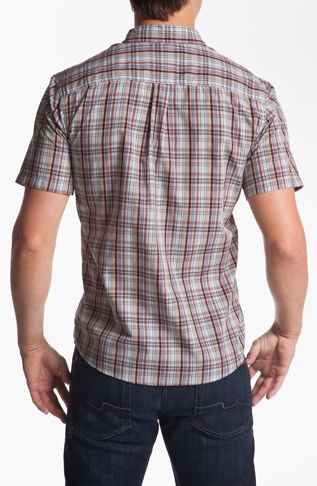 Alternate Image 2  - Brixton 'Howl' Short Sleeve Woven Shirt