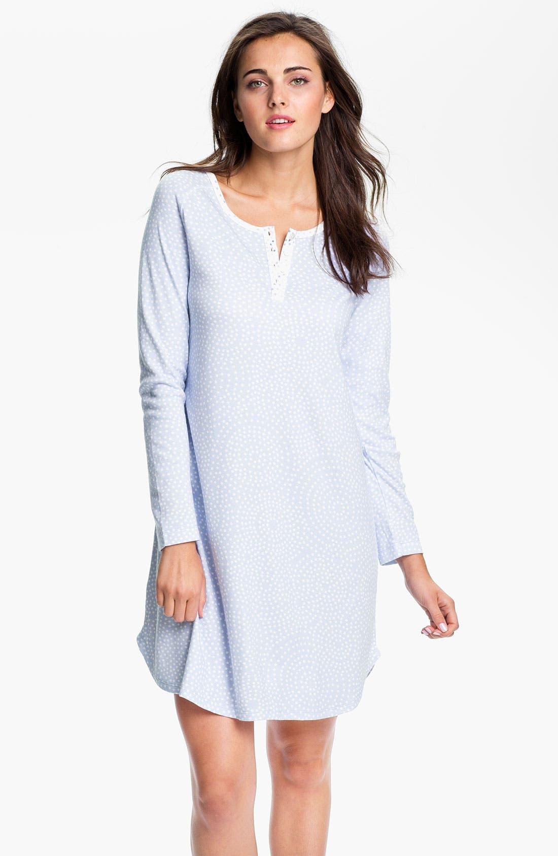 Alternate Image 1 Selected - Carole Hochman Designs Interlock Knit Sleep Shirt