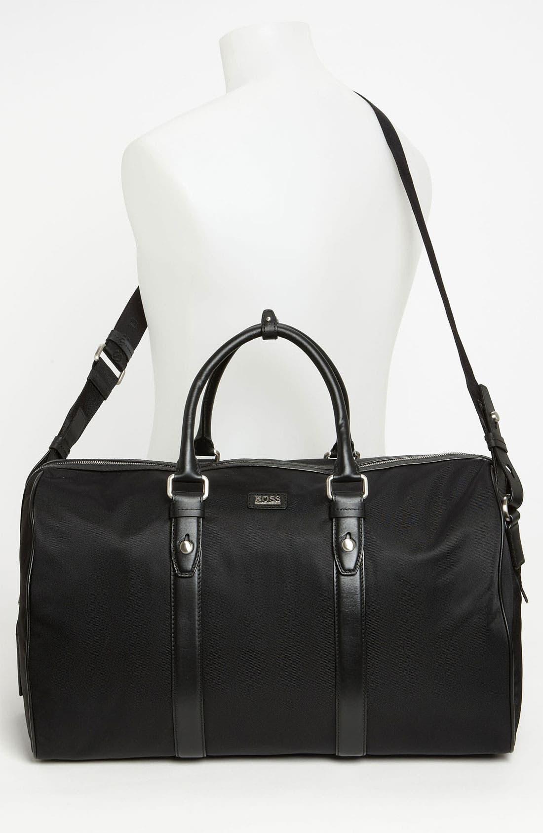 Alternate Image 4  - BOSS Black 'Teddi' Duffel Bag