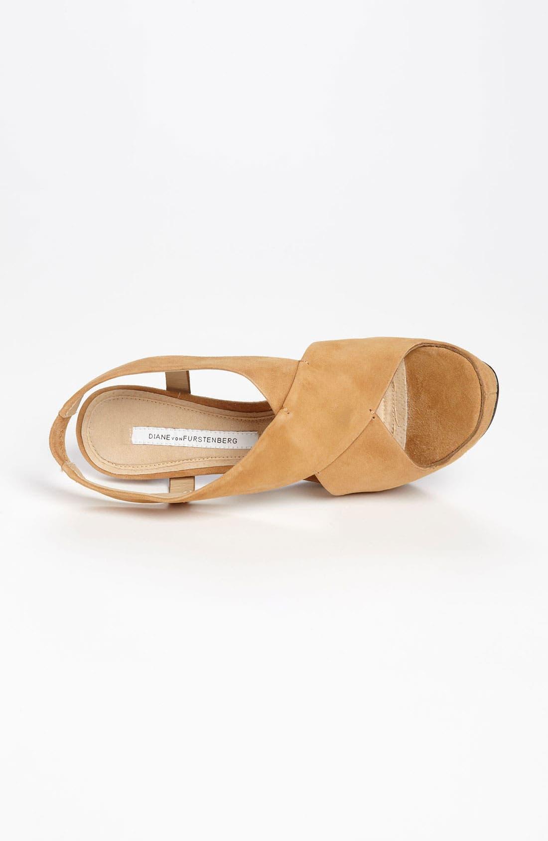Alternate Image 3  - Diane von Furstenberg 'Zia' Platform Sandal