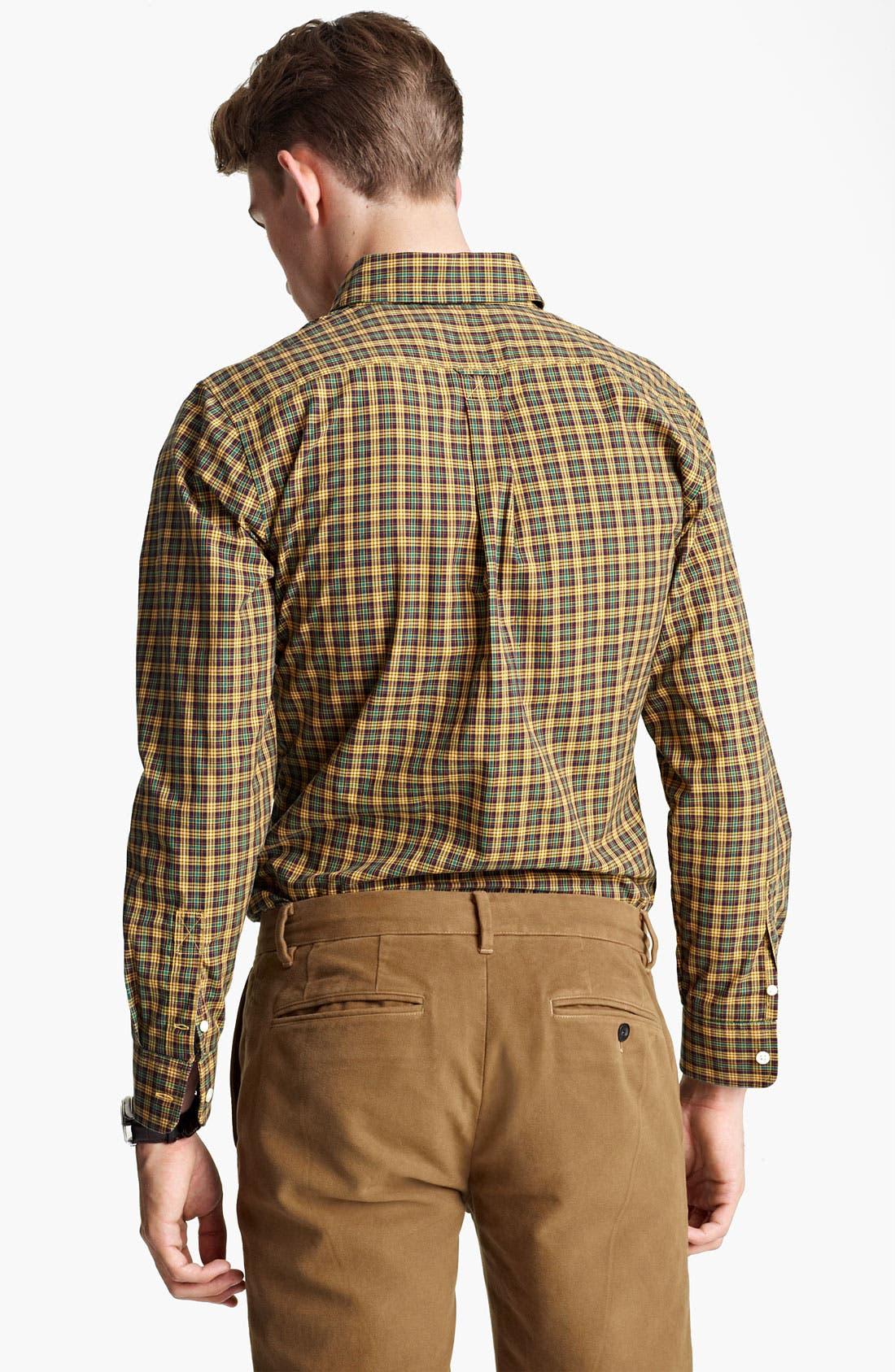 Alternate Image 2  - Jack Spade 'Nolen' Check Woven Shirt
