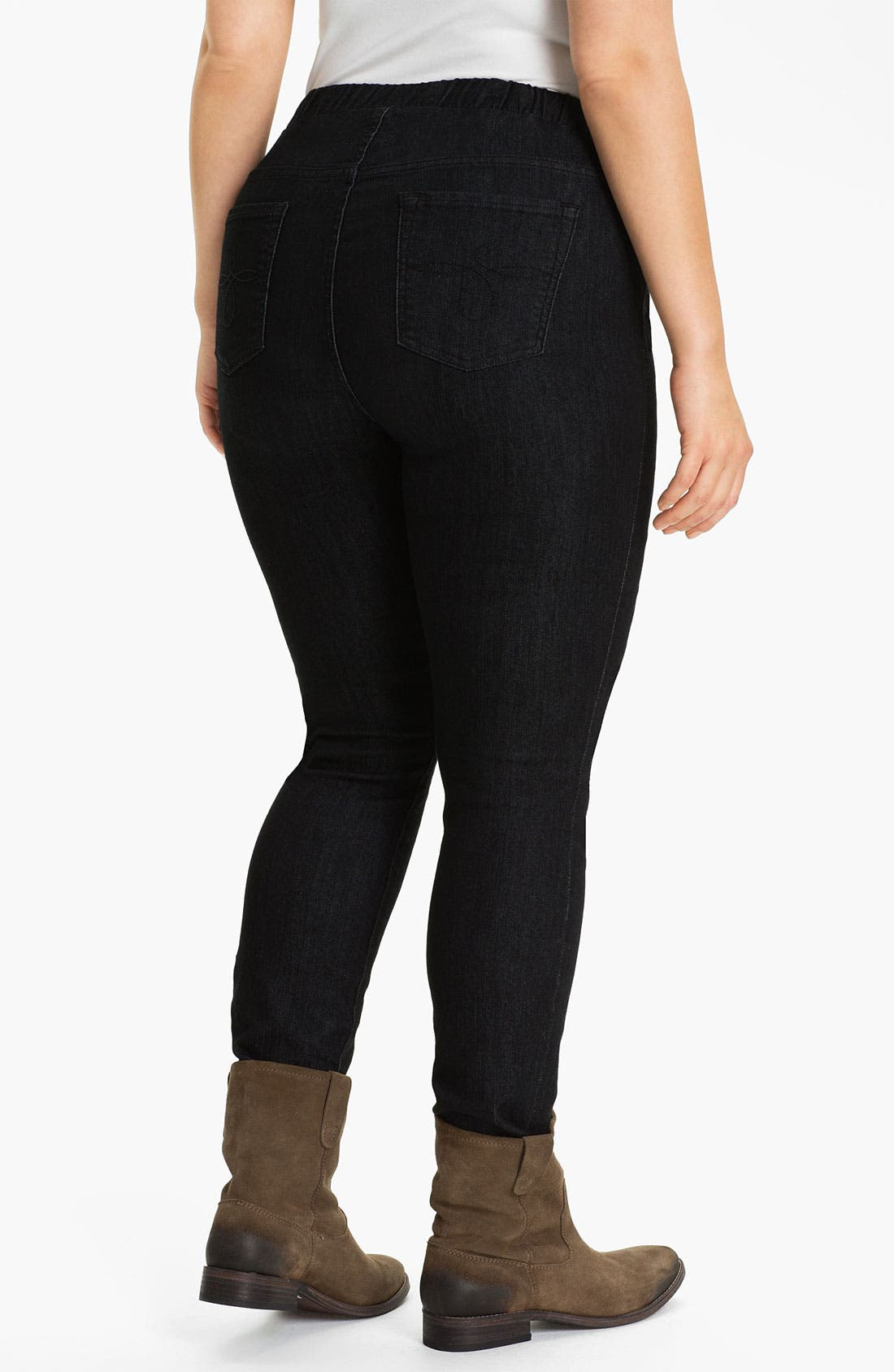 Alternate Image 2  - Lucky Brand Leggings (Plus)