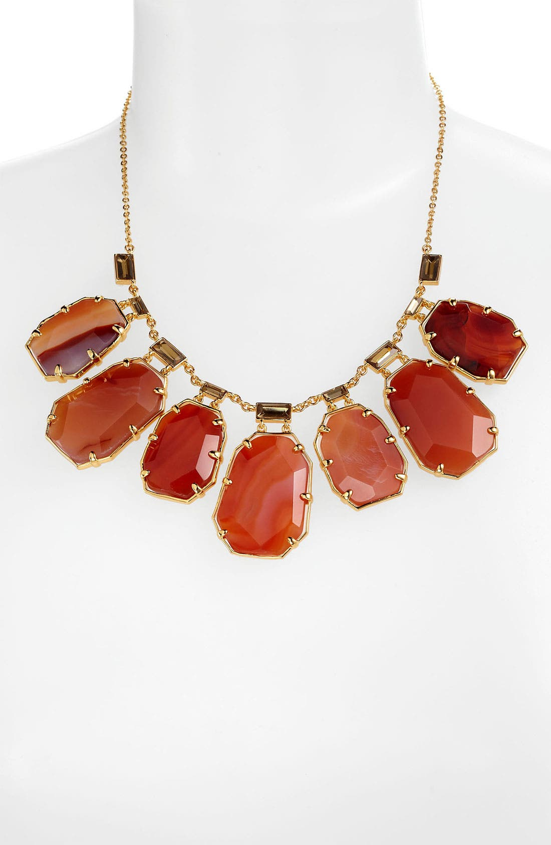 Alternate Image 1 Selected - kate spade new york 'set in stone' bib necklace