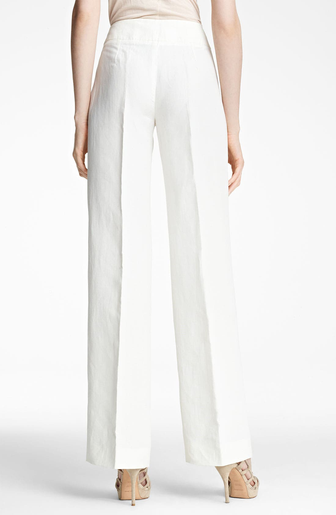 Alternate Image 2  - Armani Collezioni Wide Leg Pants