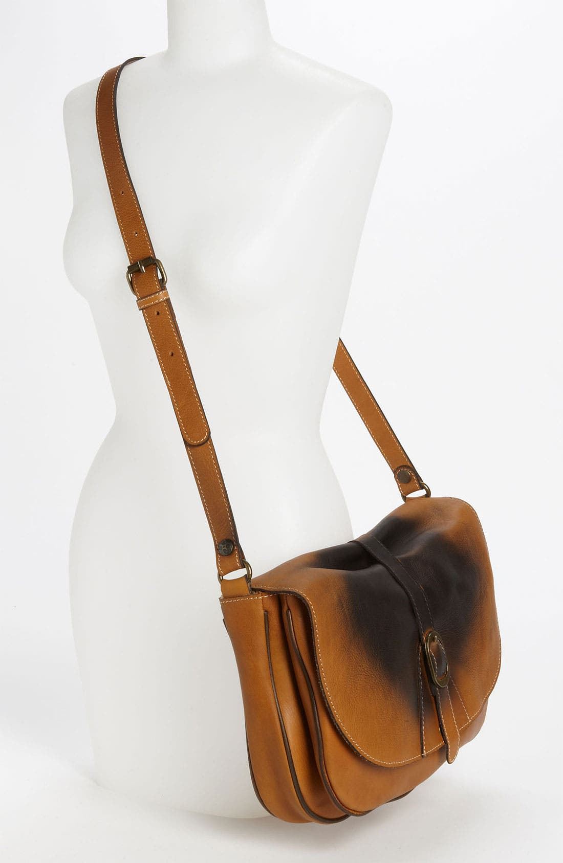 Alternate Image 2  - Patricia Nash 'Sorano - Shoe Polish' Crossbody Satchel