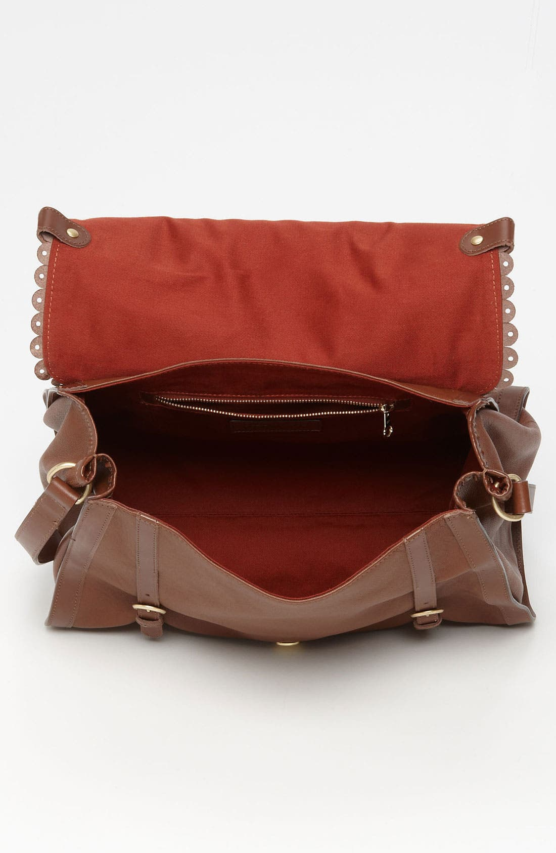 Alternate Image 3  - See By Chloé 'Poya Vintage - Large' Metallic Leather Satchel
