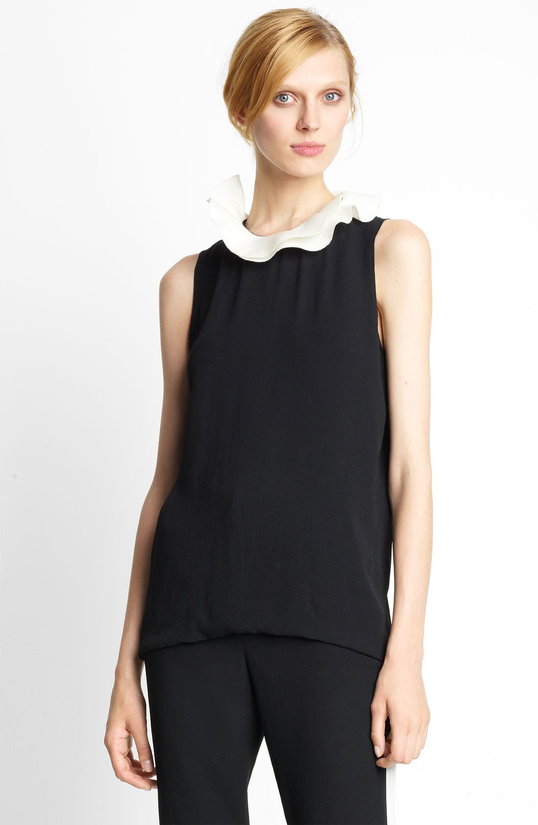 Alternate Image 1 Selected - Lanvin Flounce Collar Blouse