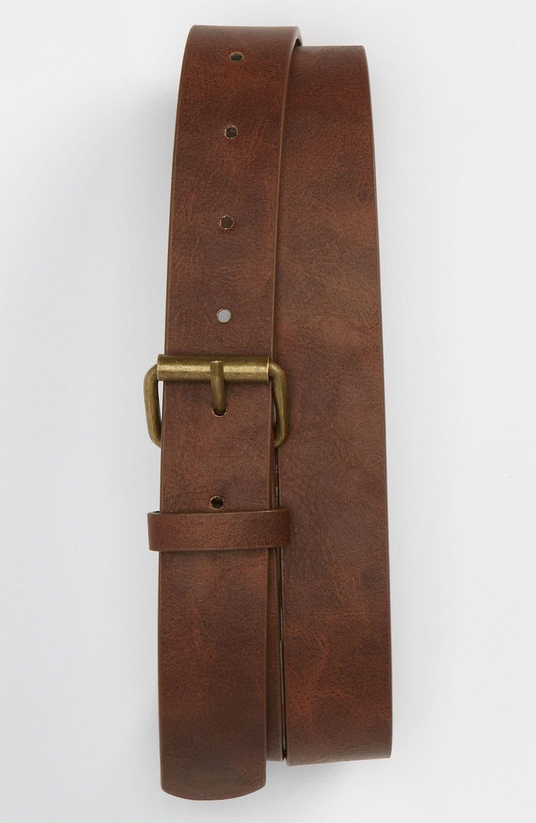 Alternate Image 1 Selected - Topman 'Chino' Belt