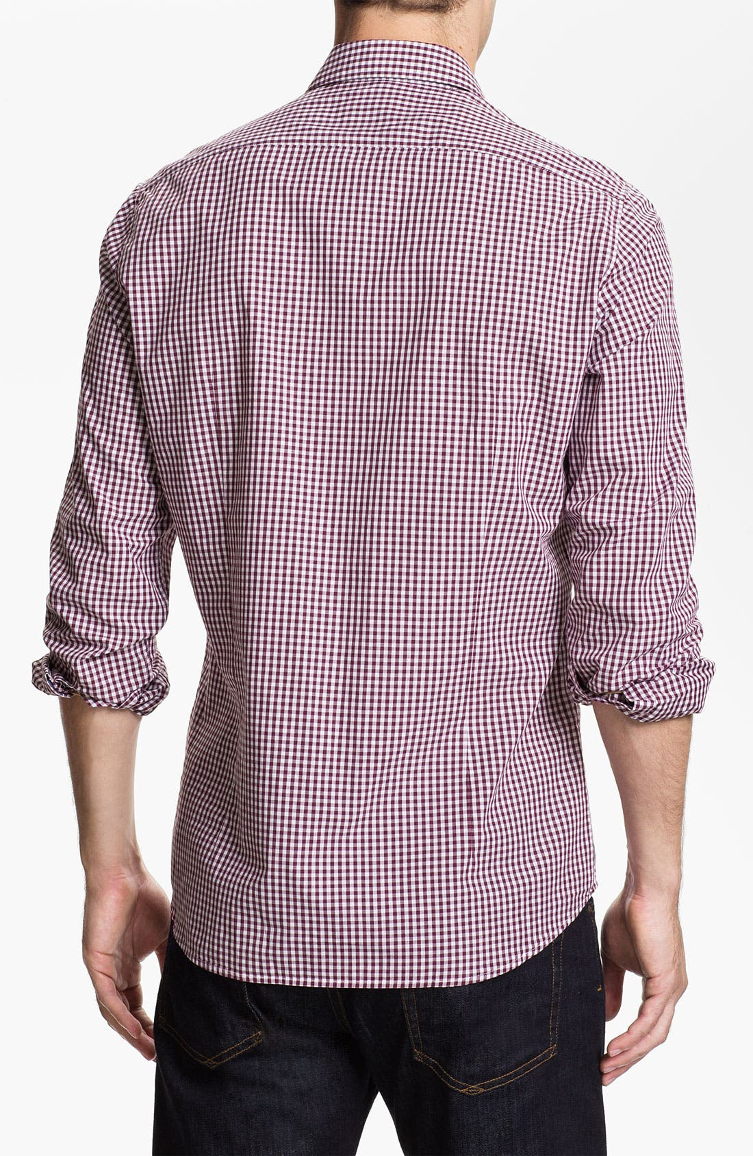 Alternate Image 2  - BOSS Black 'Obert' Regular Fit Sport Shirt