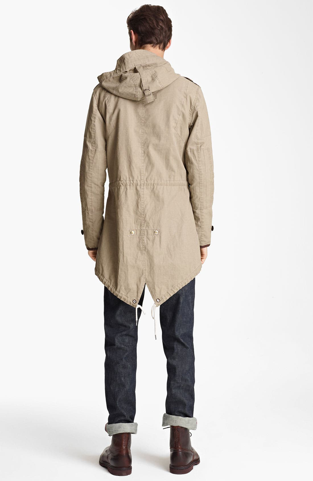 Alternate Image 5  - Todd Snyder 'Flight' Ramie Fishtail Parka