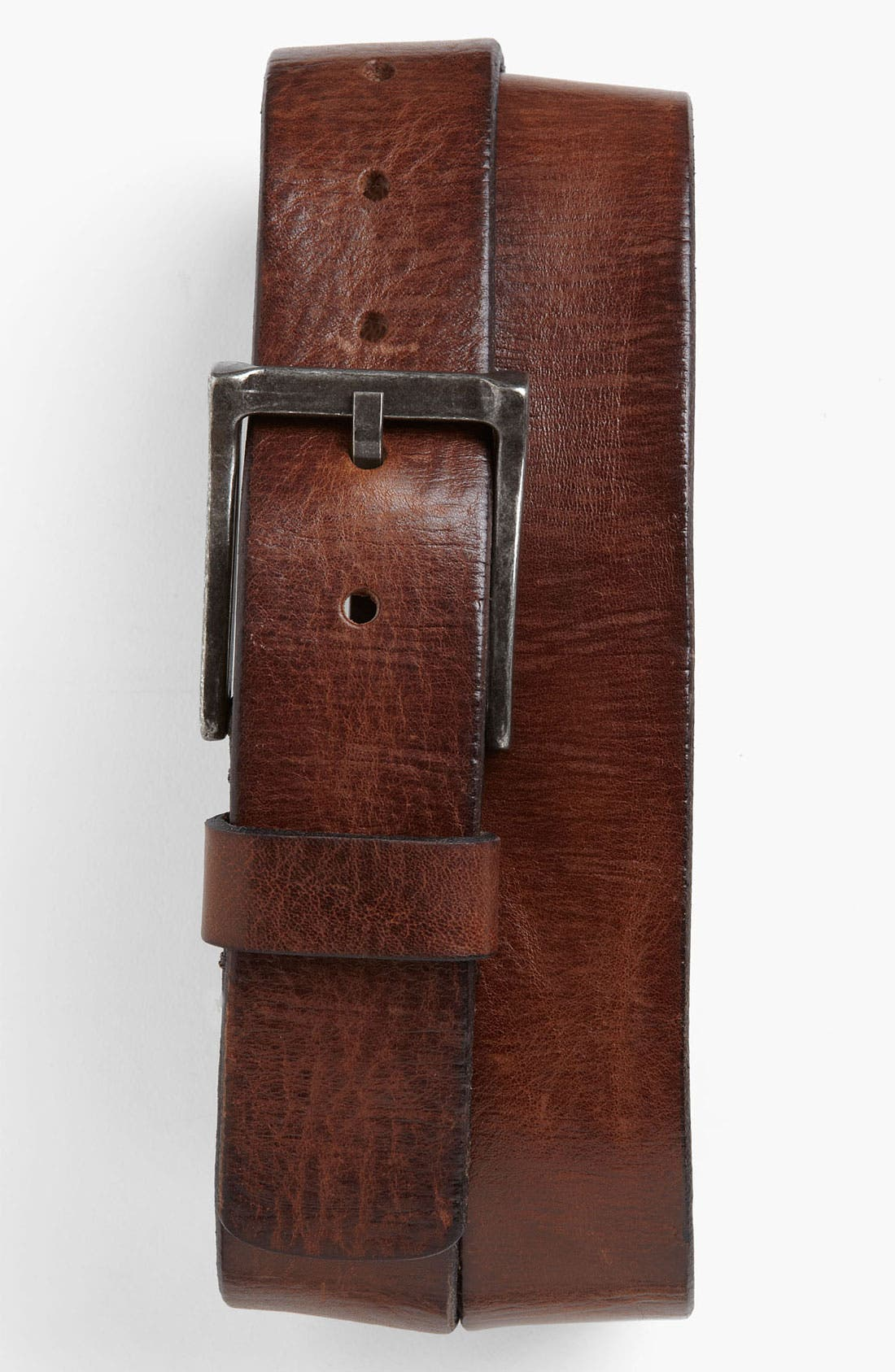 Alternate Image 1 Selected - Trafalgar 'Reed' Leather Belt