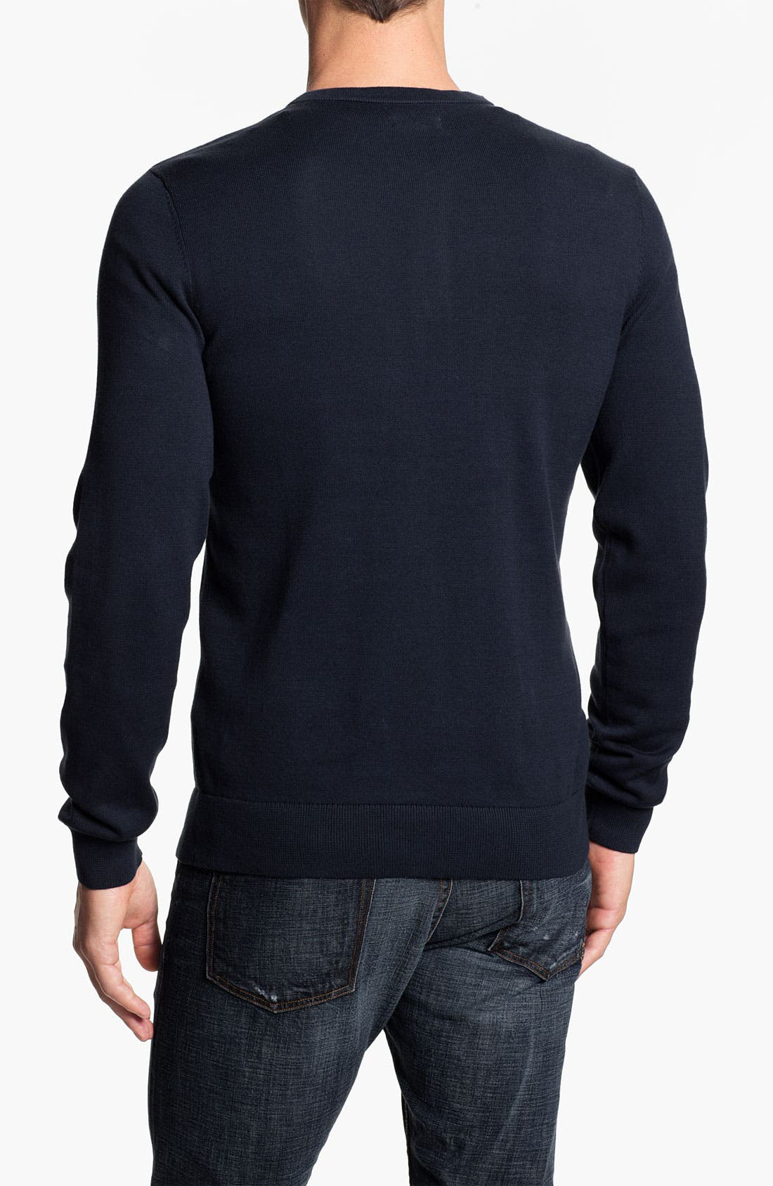 Alternate Image 2  - Public Opinion Y-Neck Henley Sweater