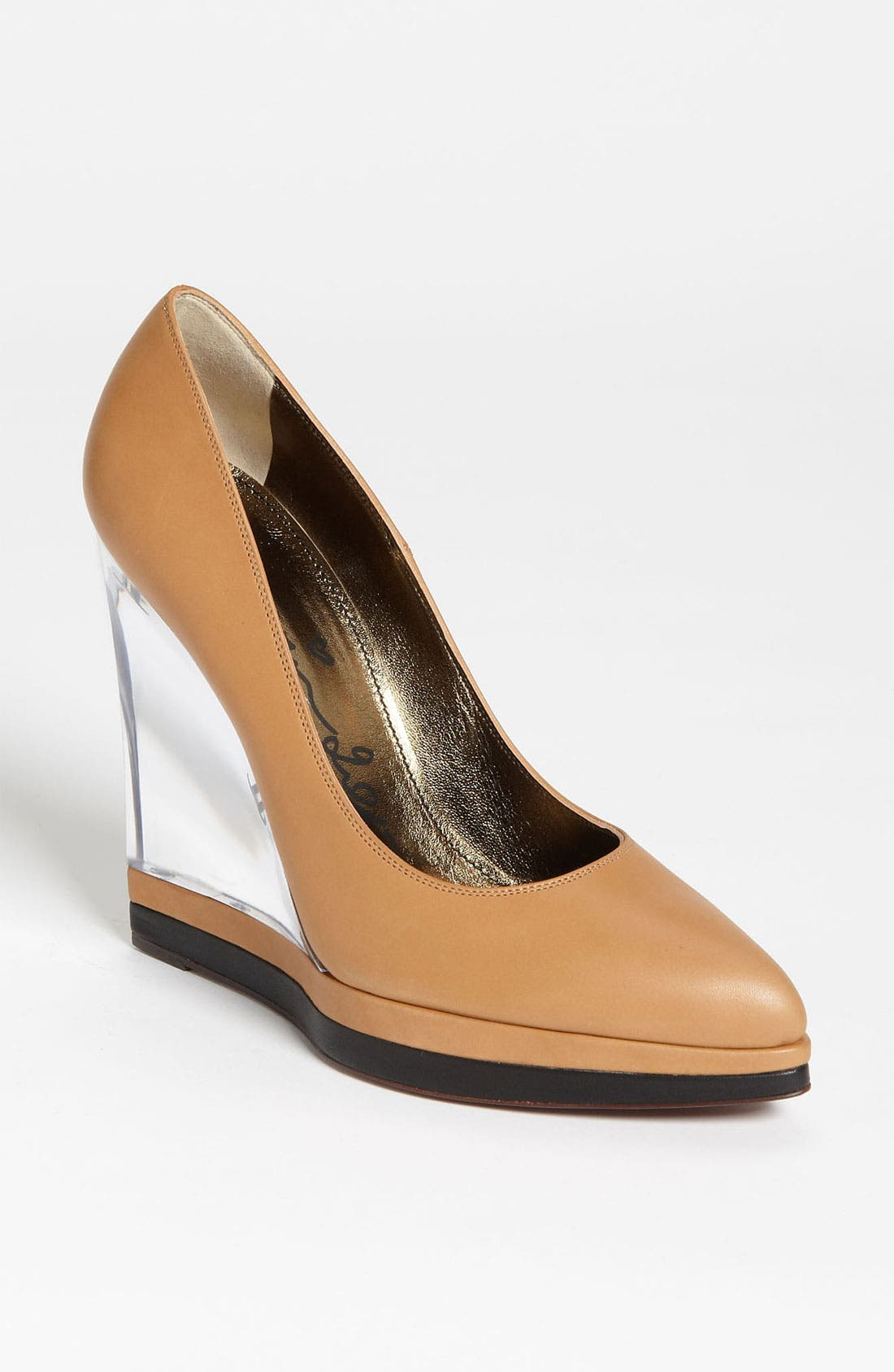 Alternate Image 1 Selected - Lanvin Lucite® Wedge Pump