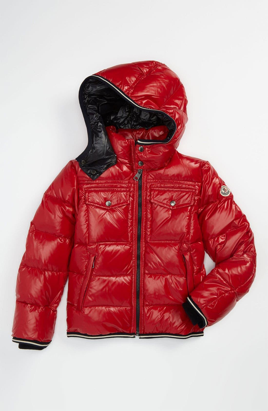 Alternate Image 1 Selected - Moncler Puffer Jacket (Big Boys)