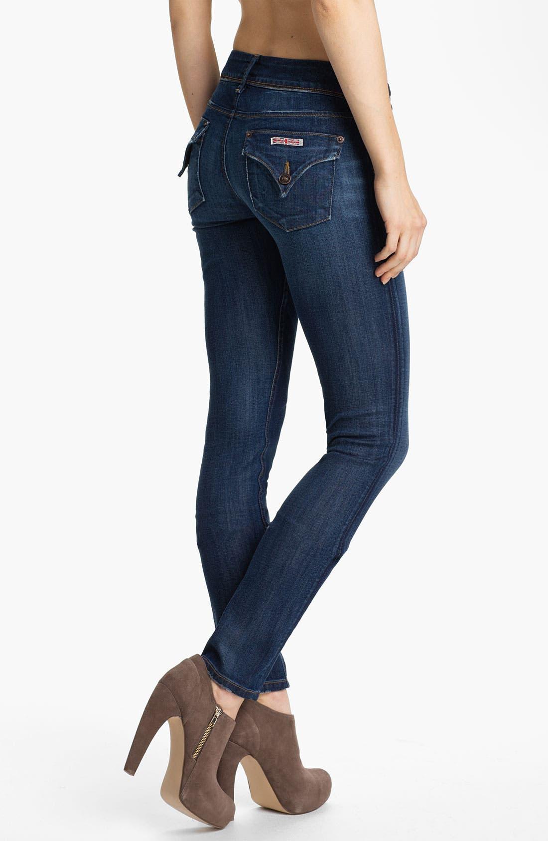 Alternate Image 2  - Hudson Jeans 'Collin' Skinny Stretch Jeans (Lownes)