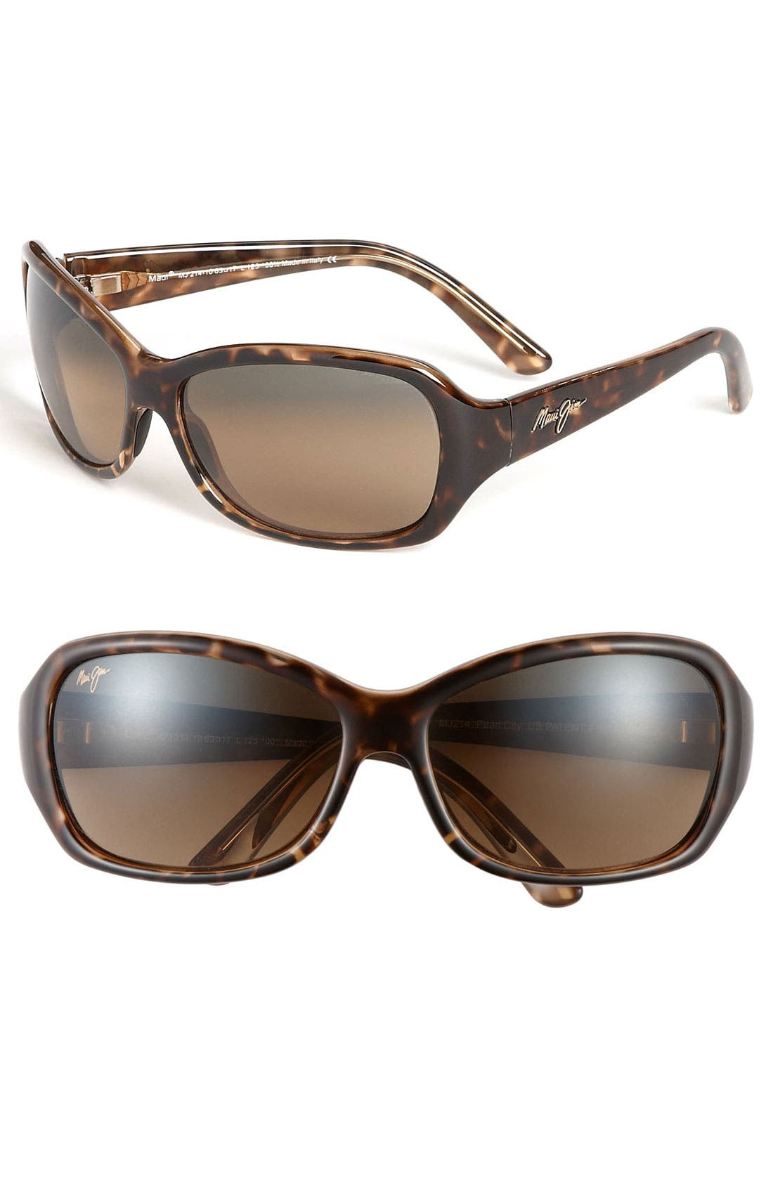 Alternate Image 1 Selected - Maui Jim Pearl City 63mm PolarizedPlus2® Sunglasses