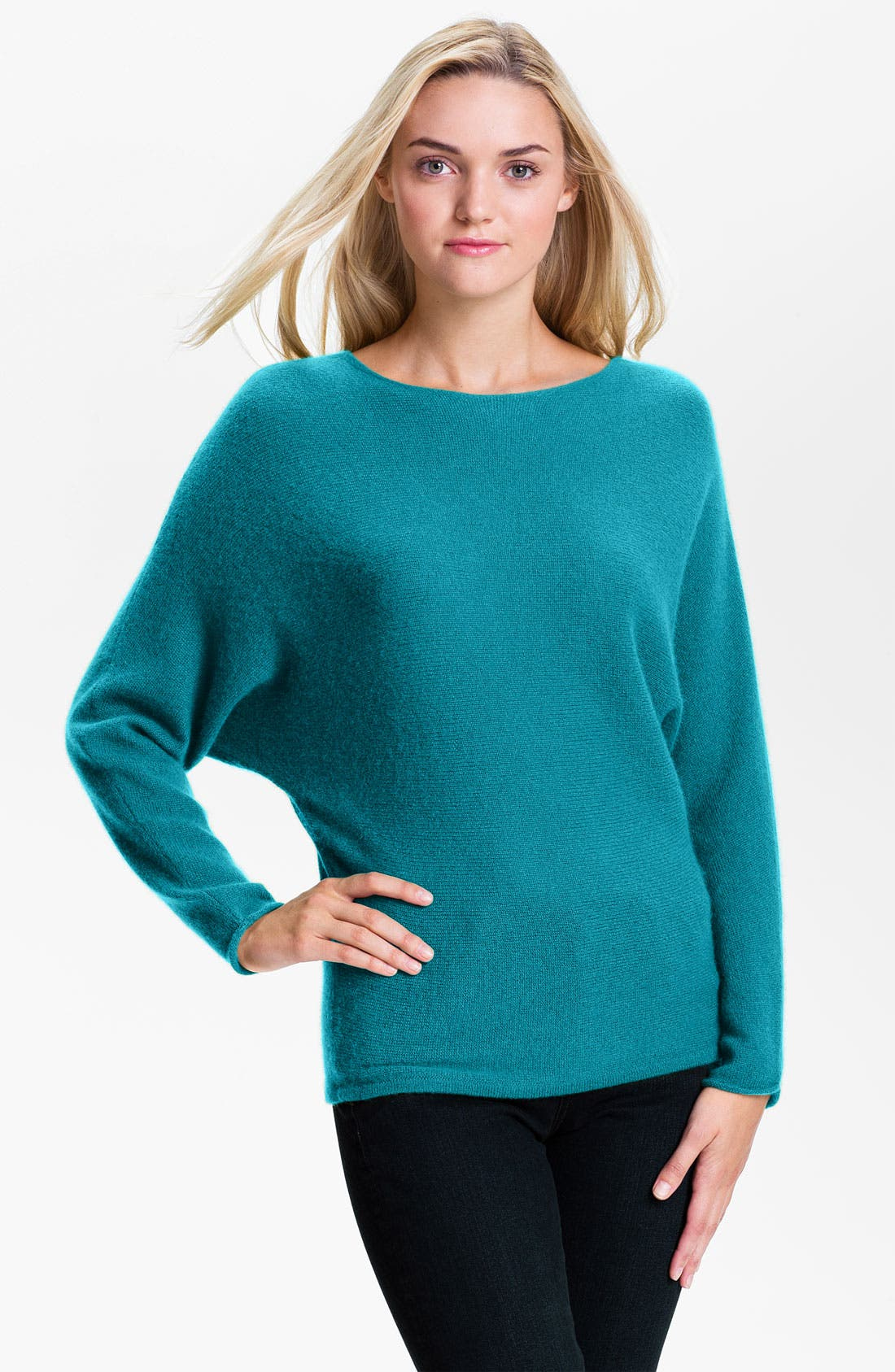 Main Image - Only Mine Dolman Sleeve Cashmere Sweater