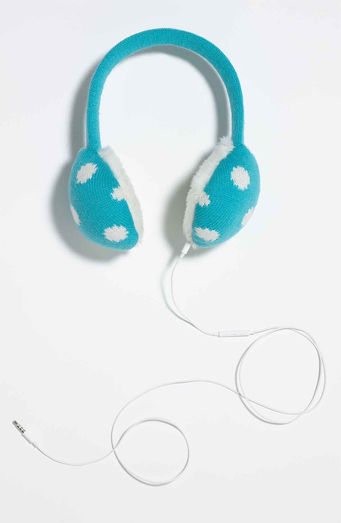 Alternate Image 4  - kate spade new york 'spotty' tech earmuffs