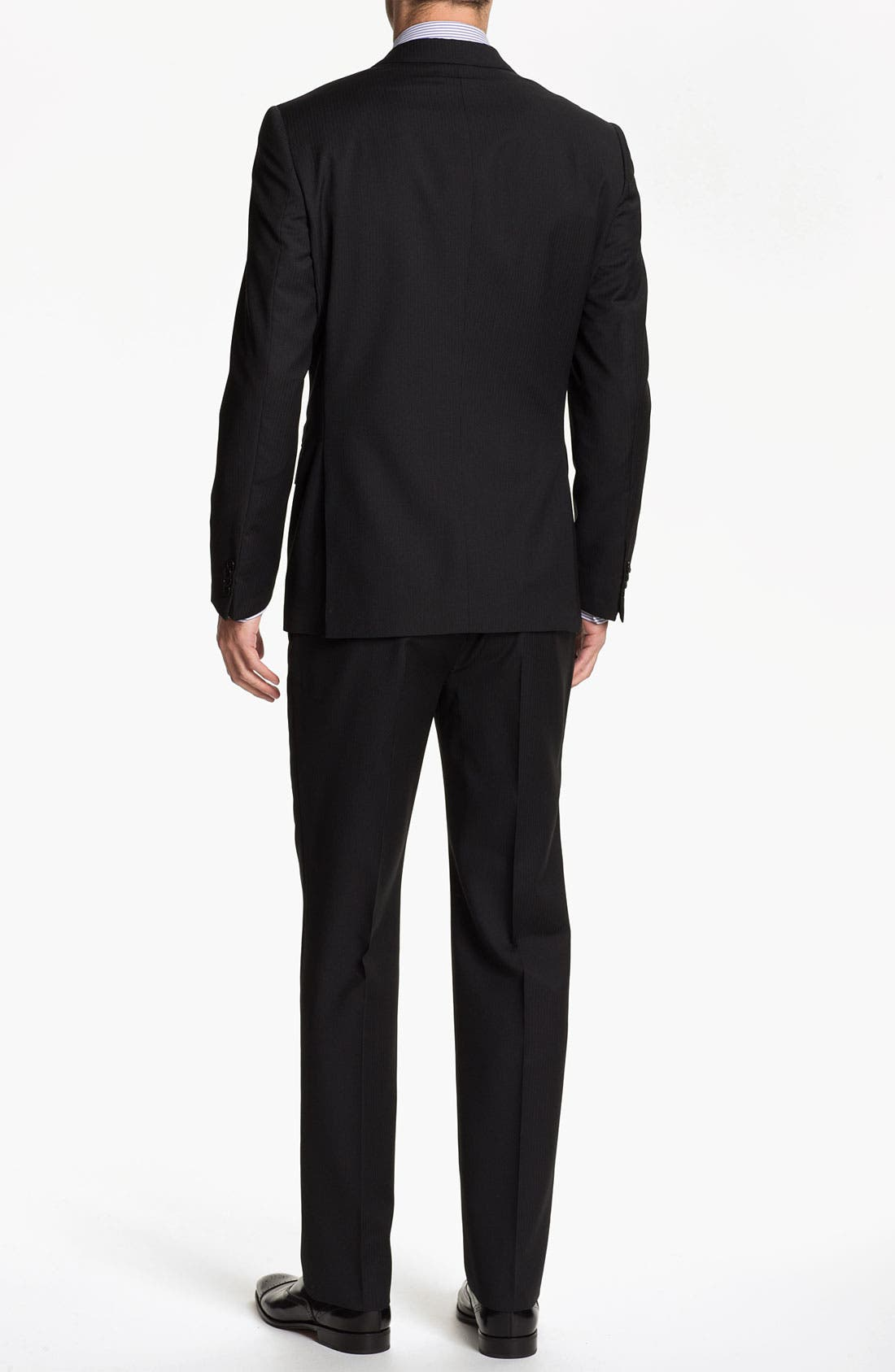 Alternate Image 3  - John Varvatos Star USA 'Berkley' Trim Fit Stripe Suit