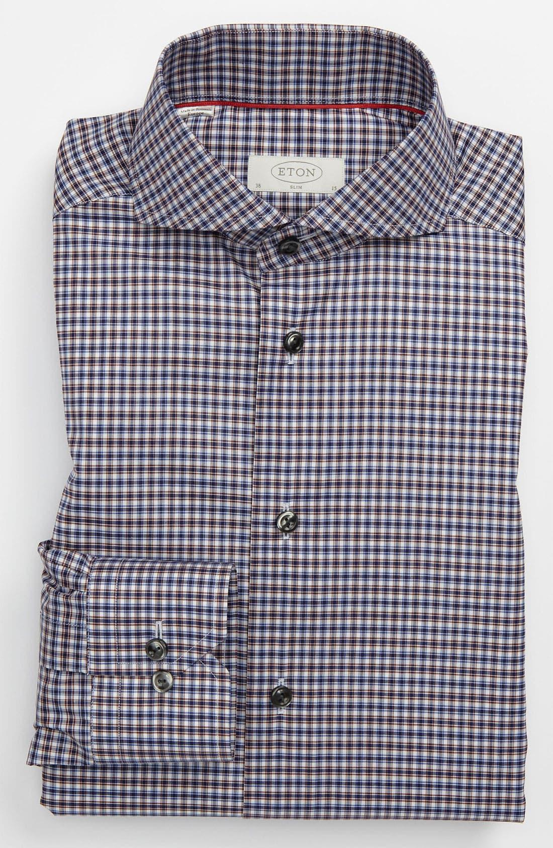 Main Image - Eton Slim Fit Dress Shirt