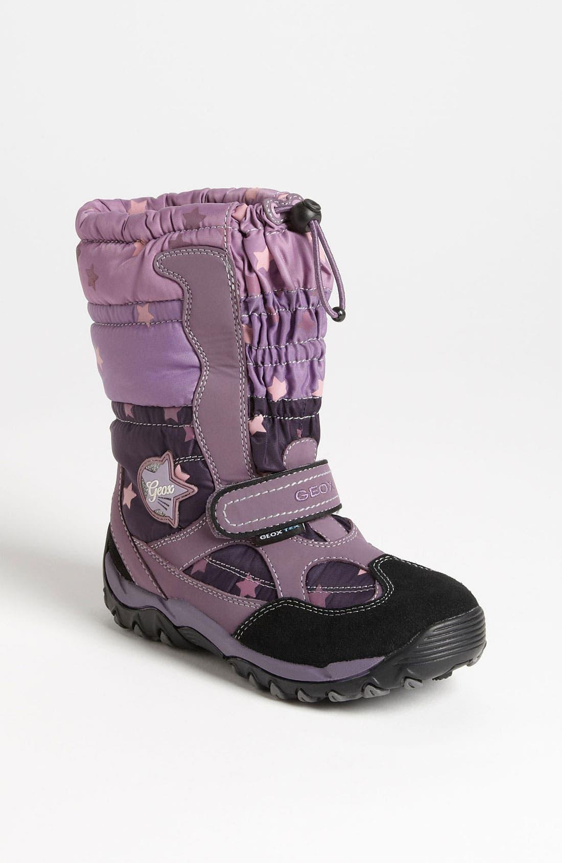 Main Image - Geox 'Alaska' Boot (Toddler, Little Kid & Big Kid)