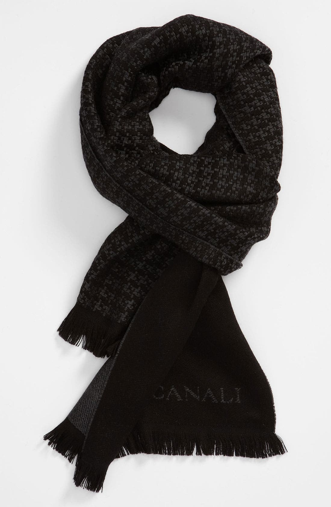 Alternate Image 1 Selected - Canali Wool Scarf