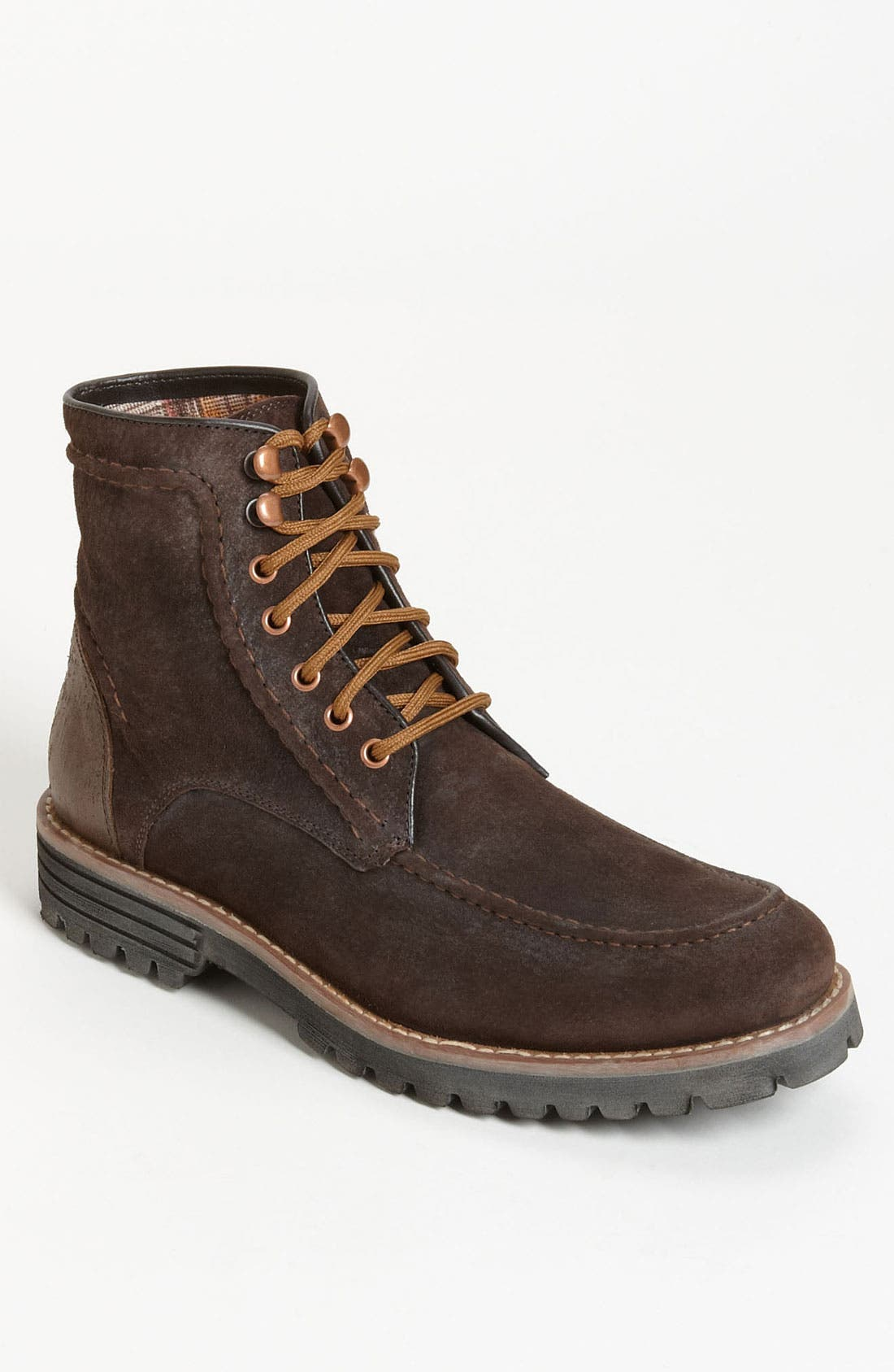 Alternate Image 1 Selected - Hush Puppies® 'Ross' Moc Toe Boot (Online Only)
