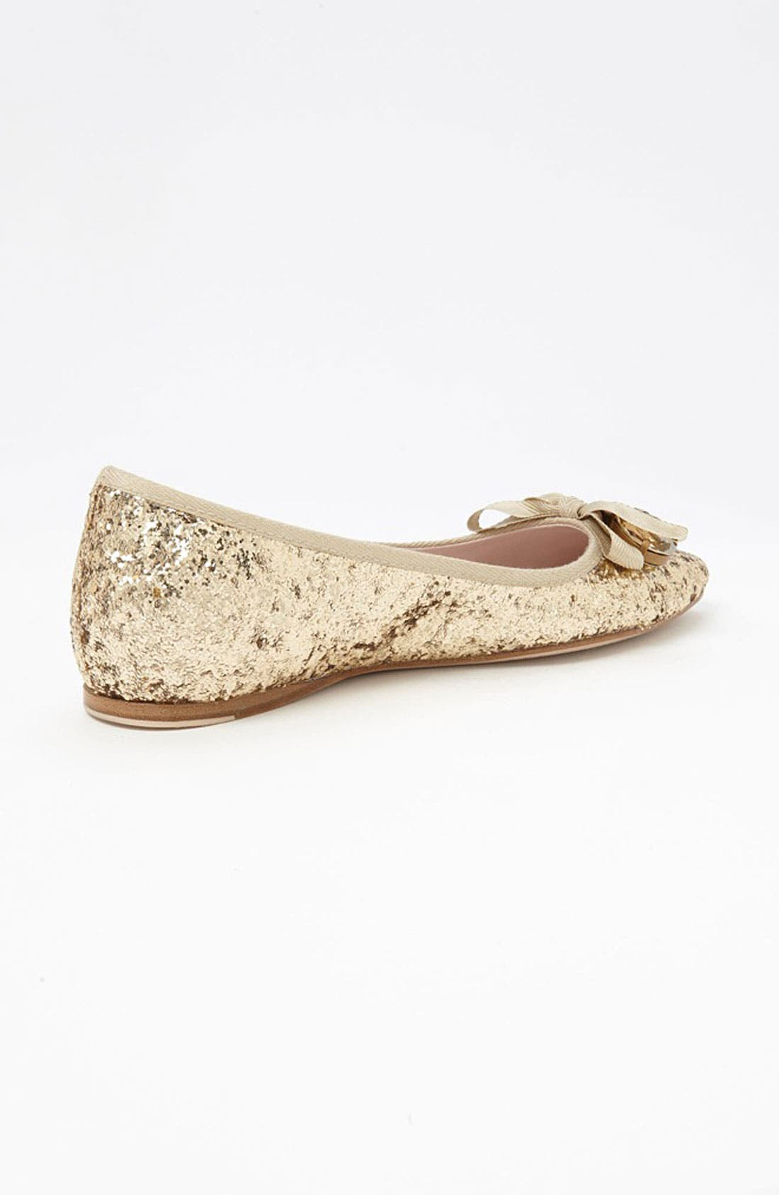 Alternate Image 2  - Miu Miu Jeweled Pointy Toe Flat