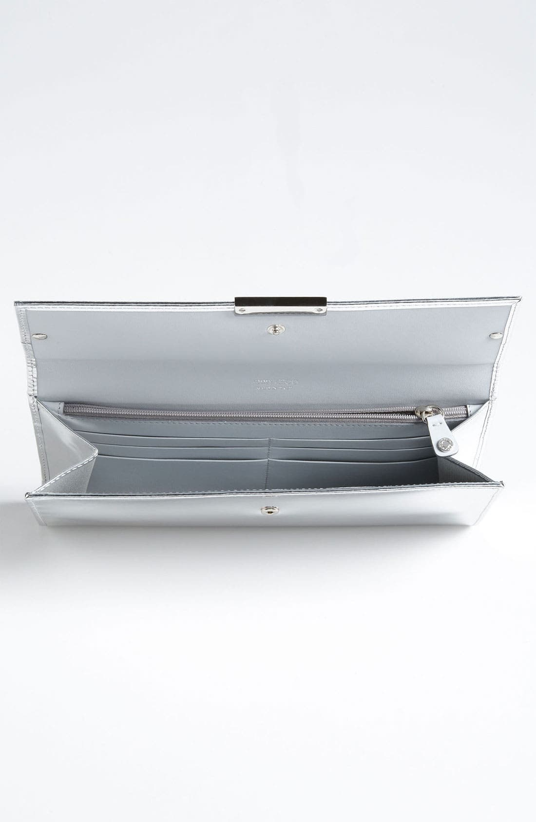 Alternate Image 3  - Jimmy Choo 'Reese' Metallic Leather Clutch