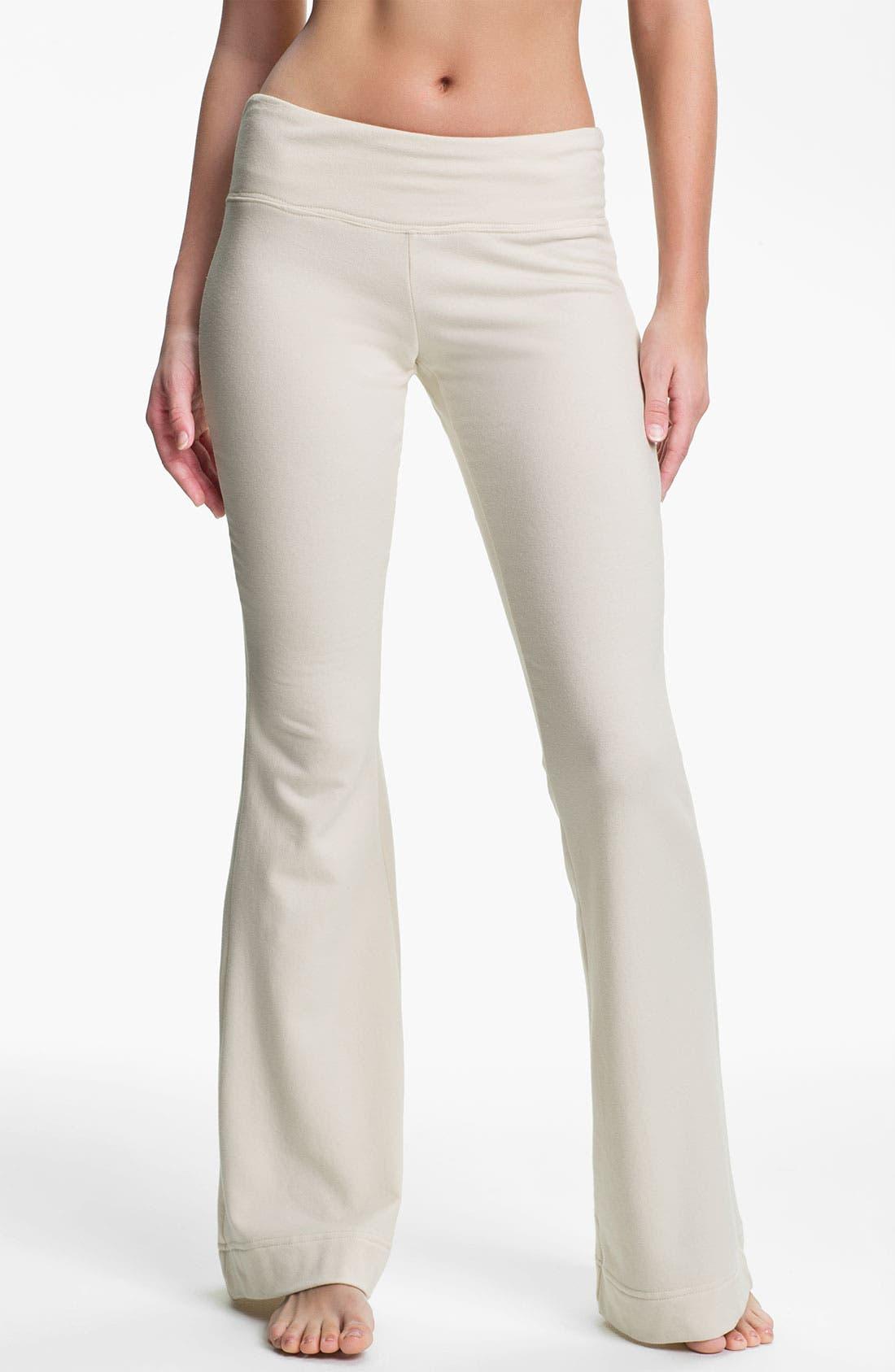 Alternate Image 1 Selected - Pink Lotus 'Paramount' Flare Leg Pants