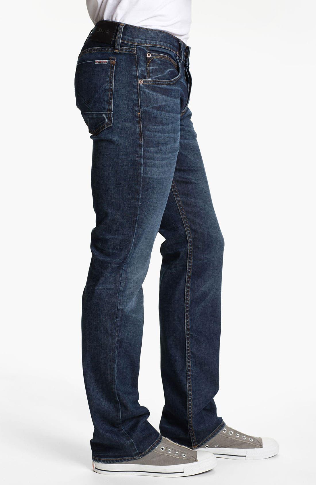 Alternate Image 3  - Hudson Jeans 'Clifton' Bootcut Jeans (Revert)