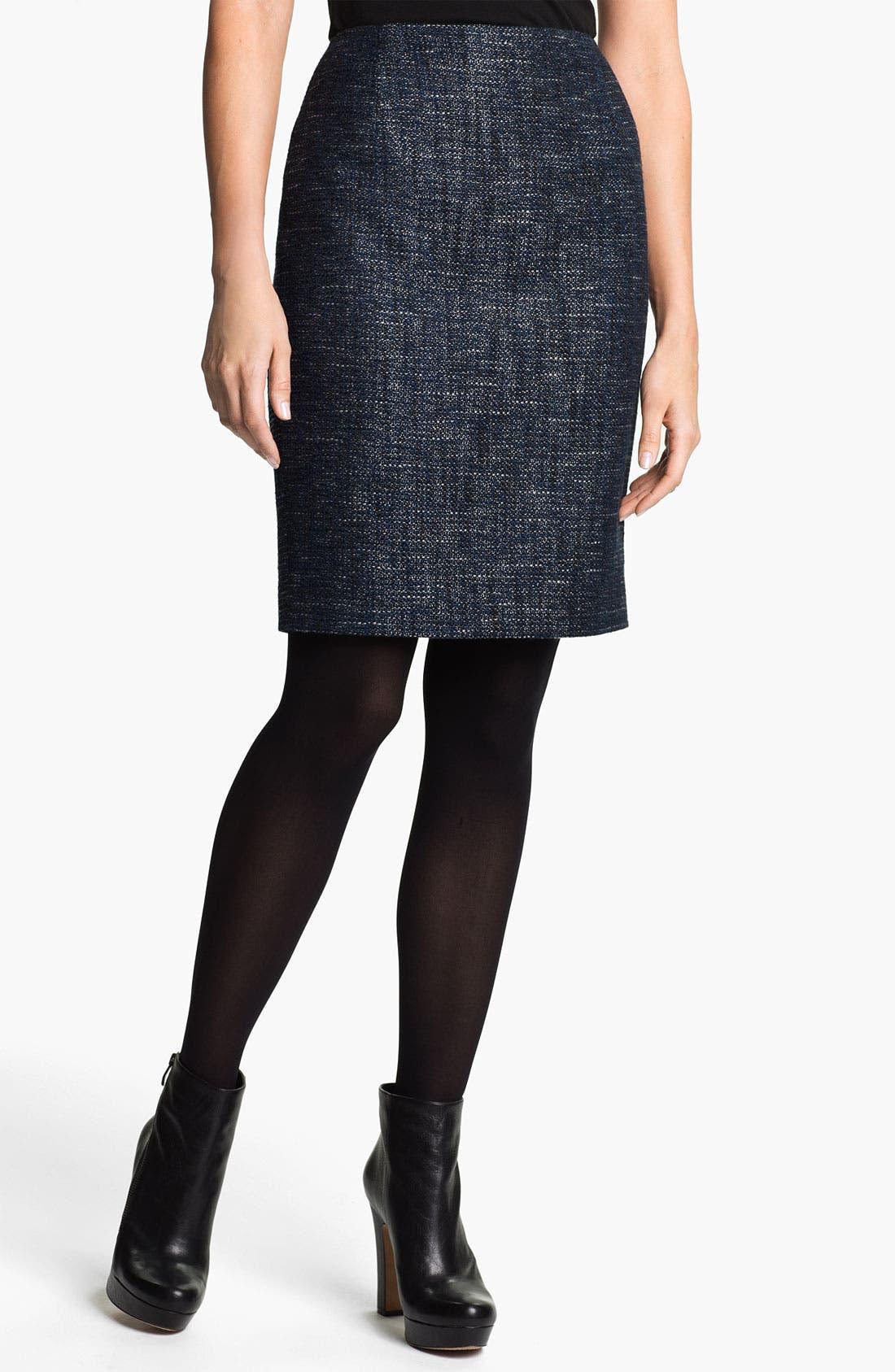 Alternate Image 1 Selected - T Tahari 'Melvina' Tweed Skirt