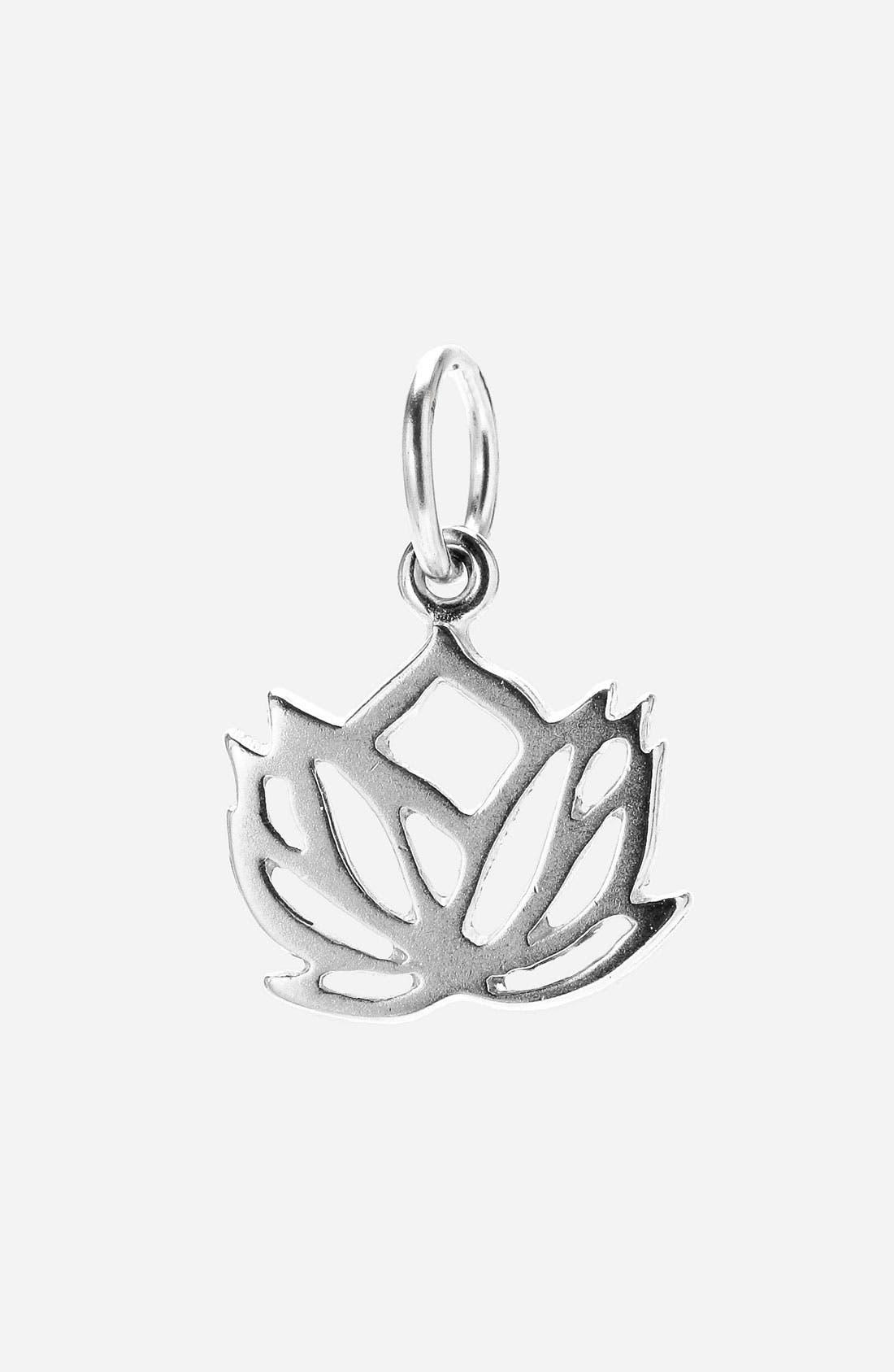 Main Image - Dogeared 'Create - Balance' Lotus Charm