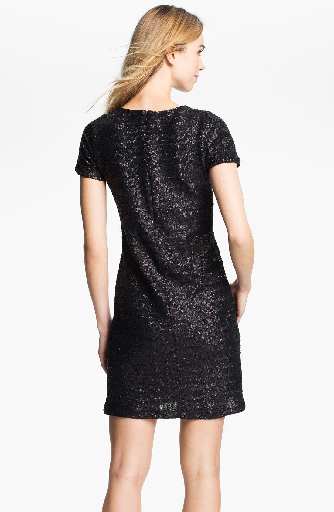 Alternate Image 2  - Velvet by Graham & Spencer Sequin T-Shirt Dress