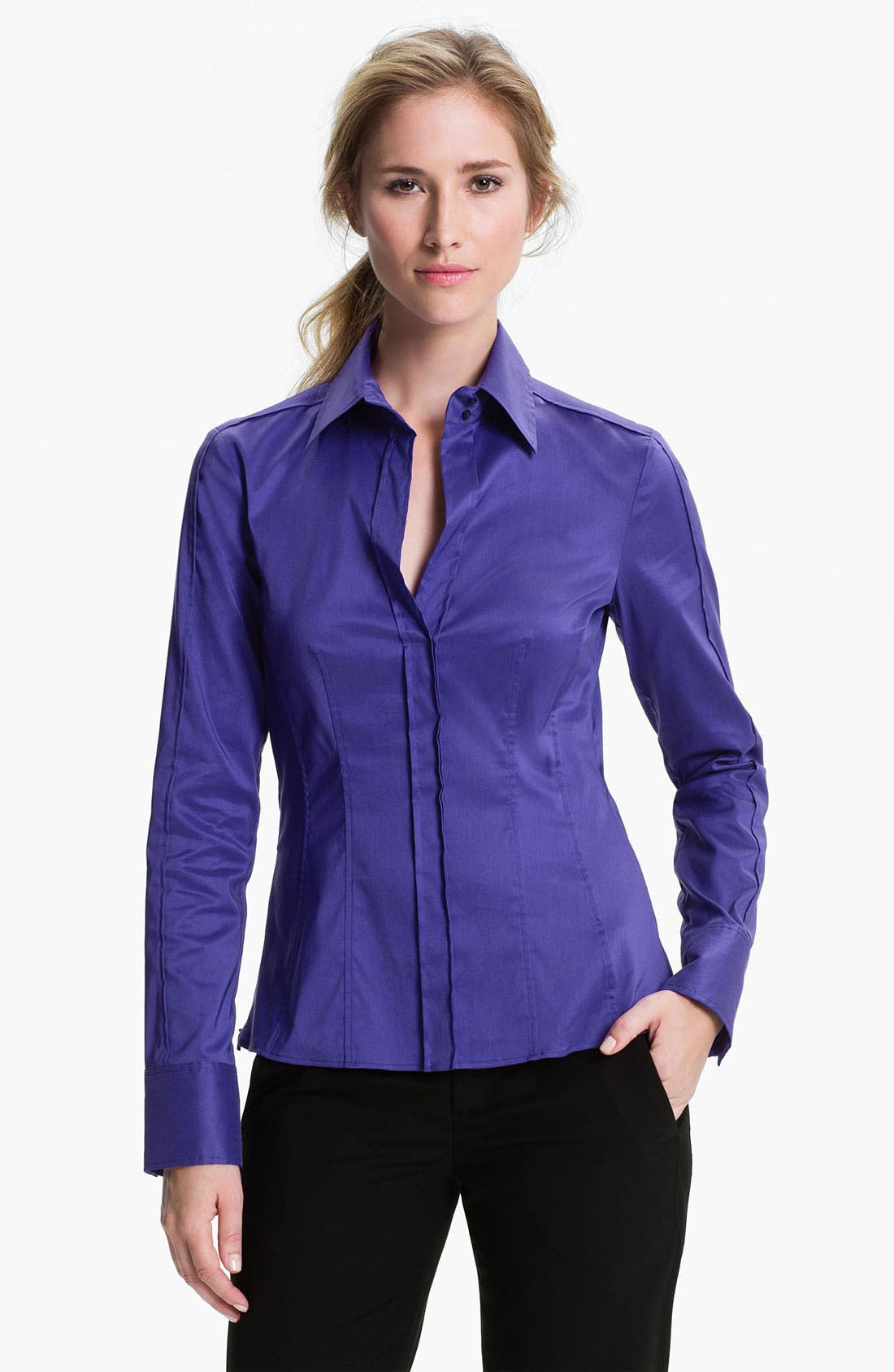 Main Image - BOSS HUGO BOSS 'Bashina 2' Blouse