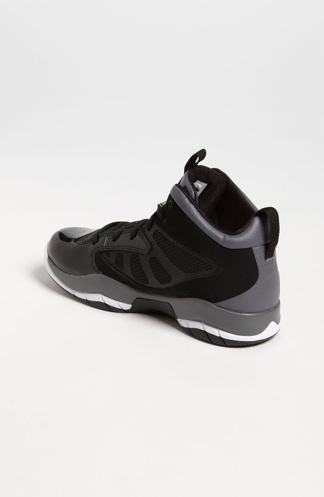 Alternate Image 2  - Nike 'Jordan Flight Team 11' Basketball Shoe (Big Kid)