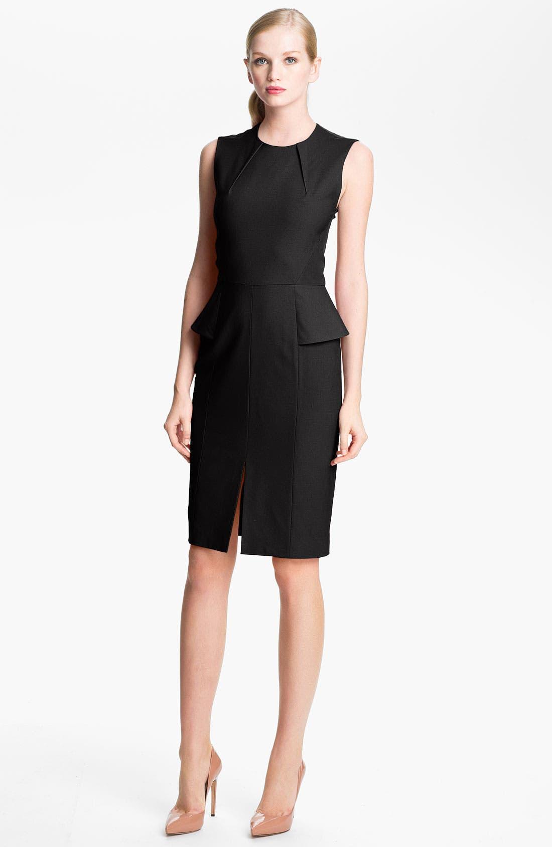 Main Image - Rachel Roy Stretch Wool Sheath Dress