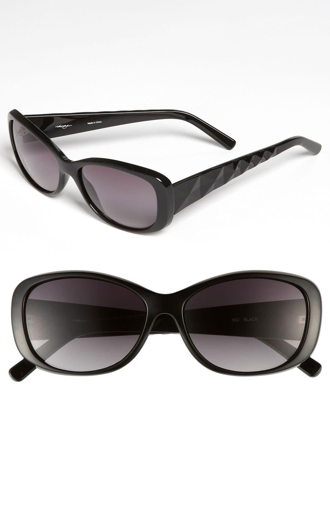Main Image - Halogen® 70mm Retro Sunglasses