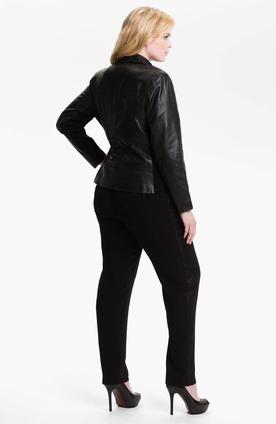 Alternate Image 5  - Sejour 'Ava' Tuxedo Pants (Plus)