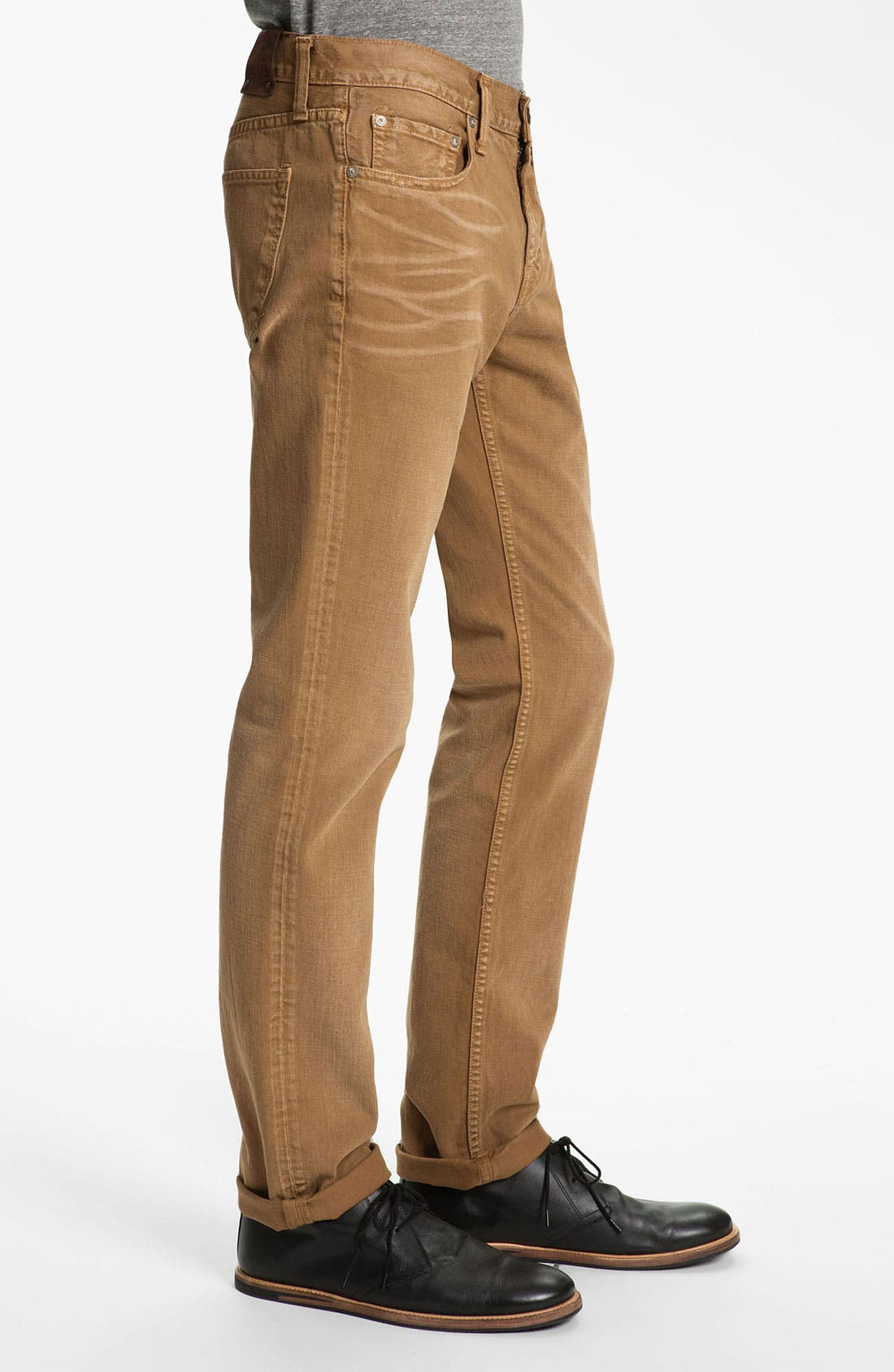 Alternate Image 3  - J Brand 'Kane' Slim Straight Leg Jeans (Weathered Timber) (Save Now through 12/9)