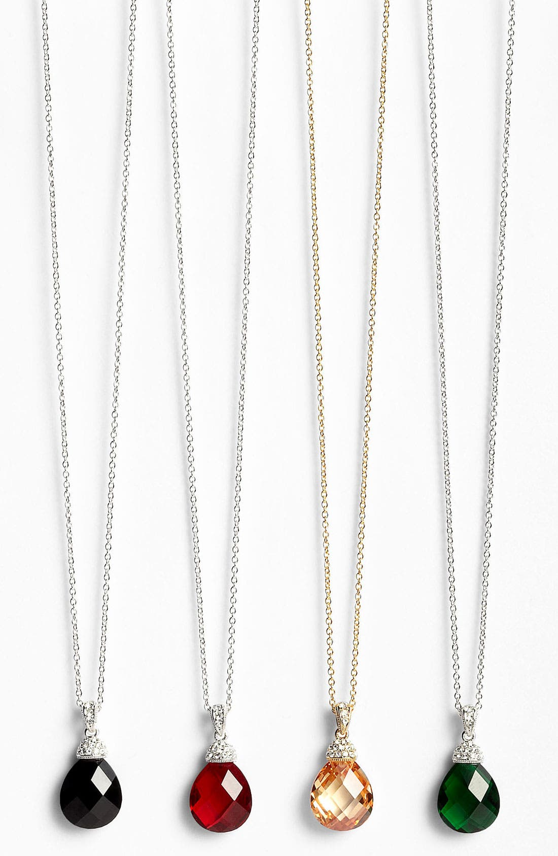 Alternate Image 1 Selected - Nadri Boxed Faceted Pendant Necklace (Nordstrom Exclusive)