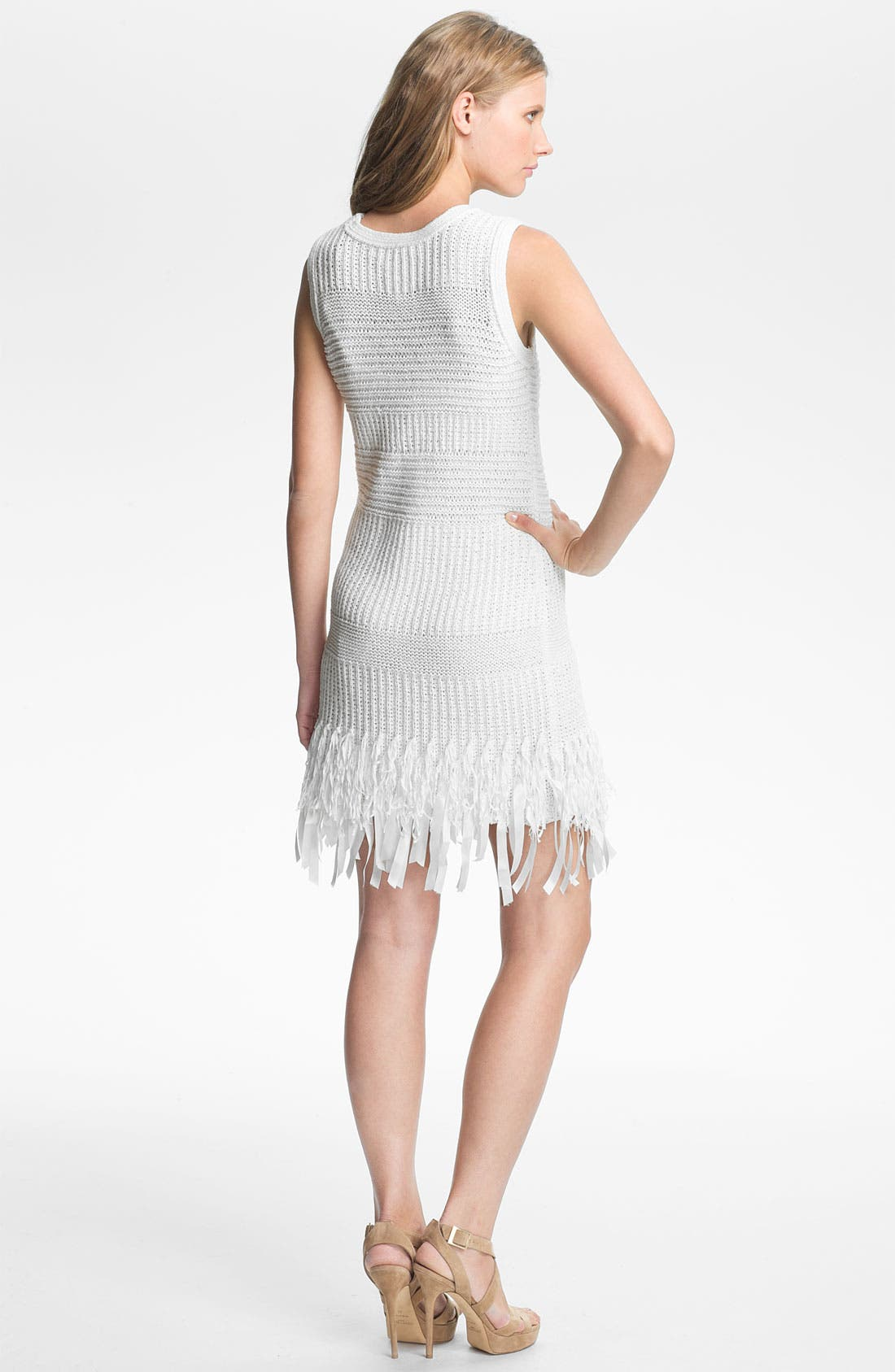 Alternate Image 2  - Mcginn 'Lissa' Fringe Hem Knit Dress