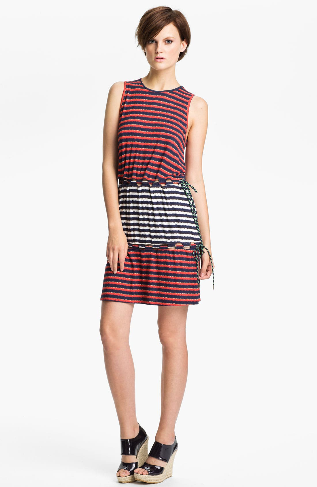 Alternate Image 1 Selected - KENZO Stripe Print Dress