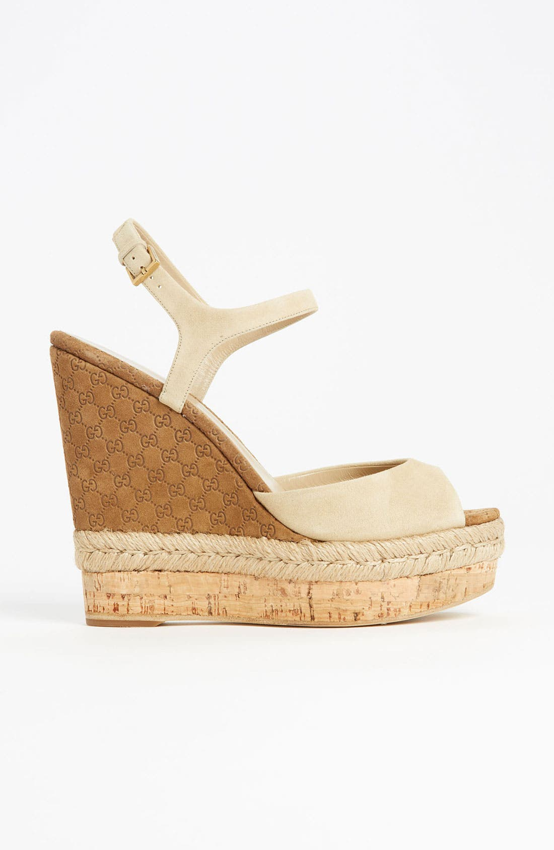 Alternate Image 4  - Gucci 'Hollie' Wedge Sandal