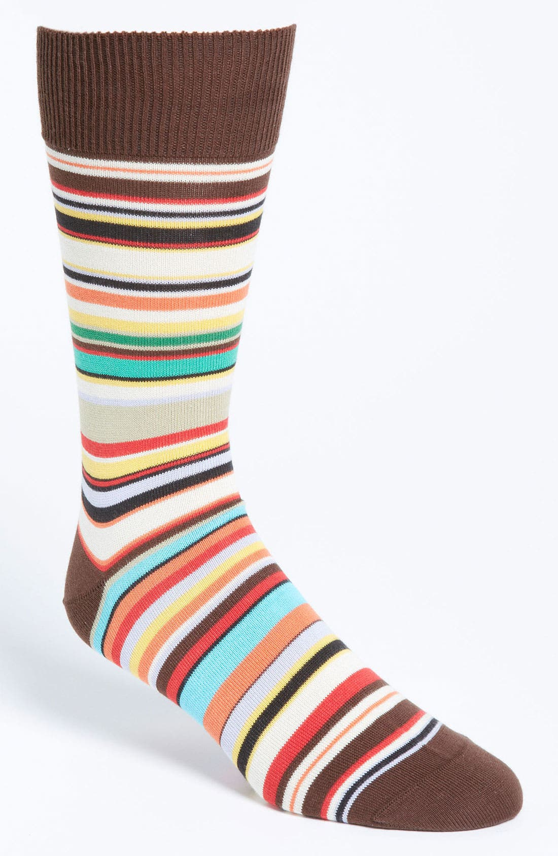 Alternate Image 1 Selected - Paul Smith Accessories Multi Stripe Socks