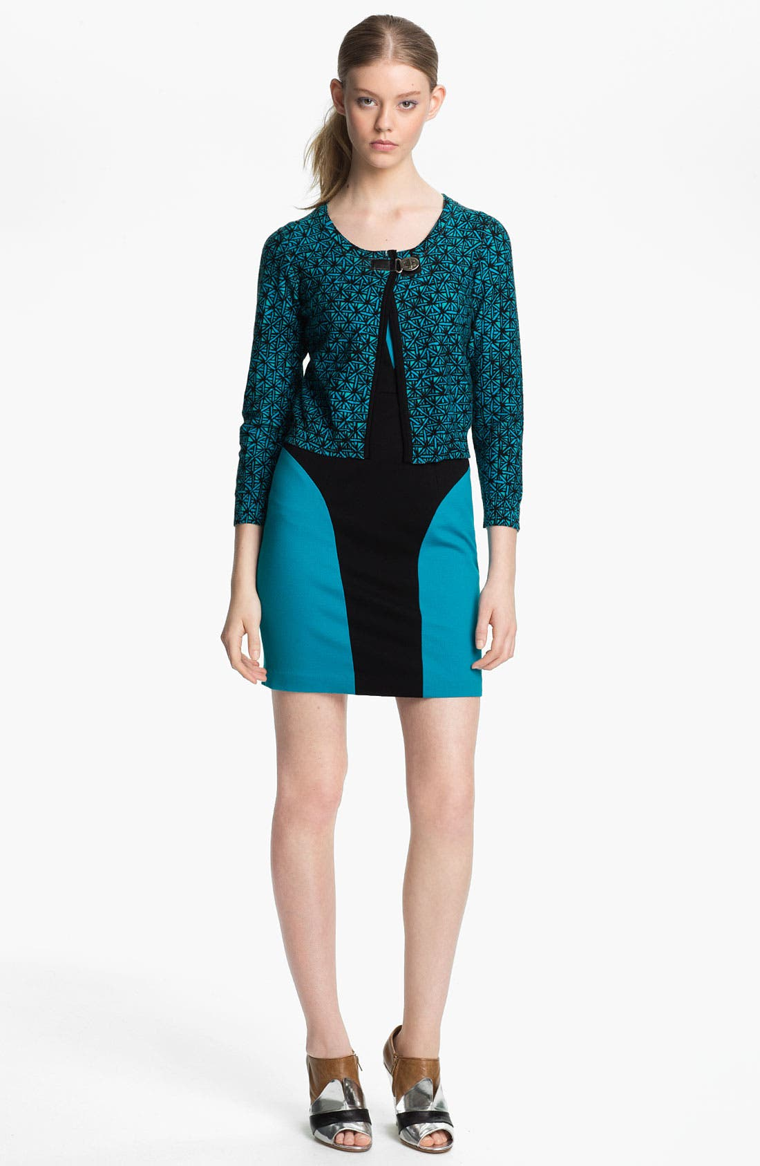 Alternate Image 1 Selected - Tracy Reese Latch Closure Cardigan