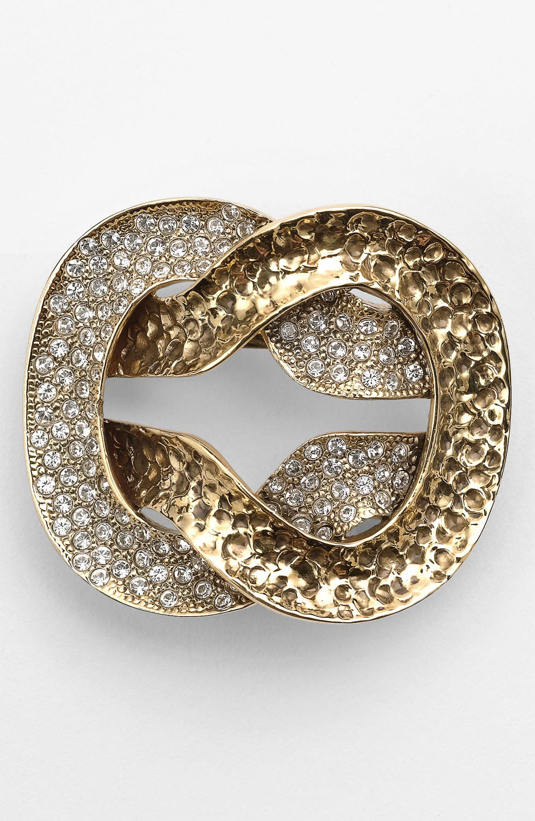 Alternate Image 1 Selected - St. John Collection Antique Gold Knot Brooch